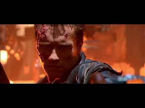 T 800 Vs T 1000 Fight | Terminator 2 (1991)