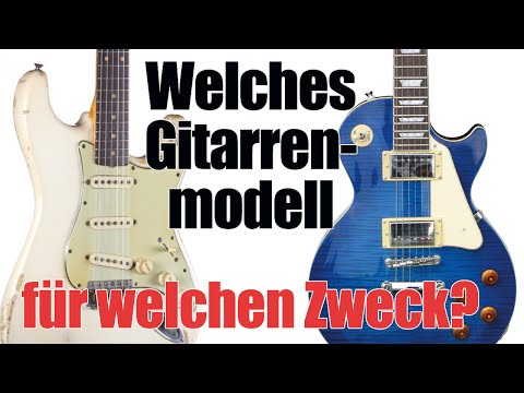 E Gitarre kaufen - Welches Modell?