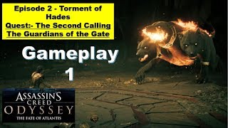 Assassins Creed Odyssey DLC 2 The Fate of Atlantis - Episode 2 Torment of Hades - The Second Calling