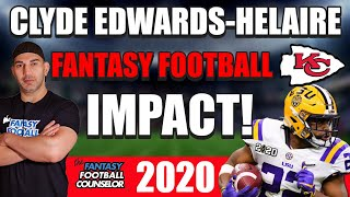 Clyde Edwards-Helaire Fantasy Football Impact 2020