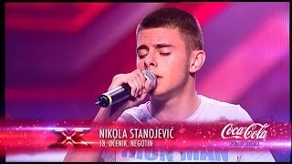 Nikola Stanojevic (When I Was Your Man   Bruno Mars) Audicija   X Factor Adria   Sezona 1