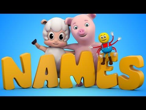 Learn Animal Names | Nursery Rhymes Farmees | Animal Sound Song | Baby Rhymes
