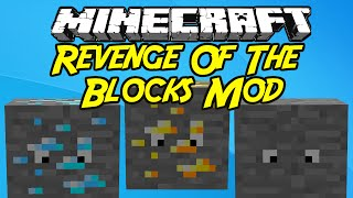 "Minecraft Mods:  ""  Revenge Of The Blocks Mod   1. 7 .10 """