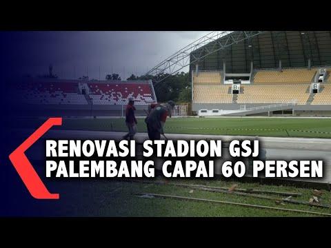 ini penampakan stadion gsj palembang setelah renovasi persen