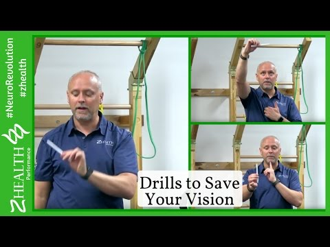 Vision Training Drills to Save Your Vision. Part 1 - YouTube
