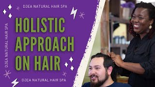 We Make Natural Hair Easy Ep.2 - Conversation with Dr.Sonza Curtis | Holistic Approach on Hair