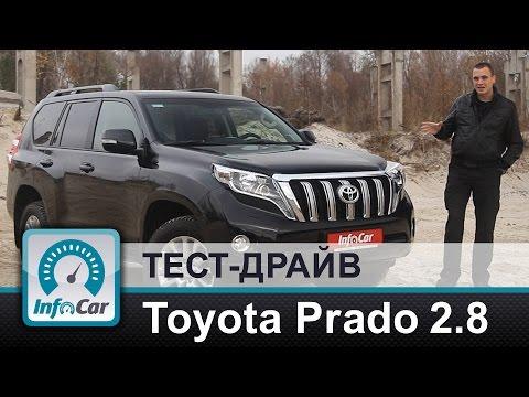 Toyota Land Cruiser Prado Внедорожник класса J - тест-драйв 3