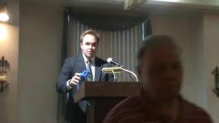September 7, 2017 General Meeting – Jeremy Baker