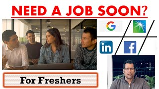 How to Get a Job Faster? [Career 2020]   English   Dream Big with SK