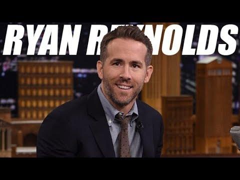 Ryan Reynolds FUNNY MOMENTS (видео)