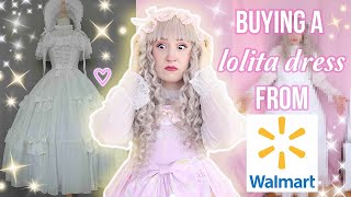 Can You Buy Lolita Fashion FROM WALMART ?!