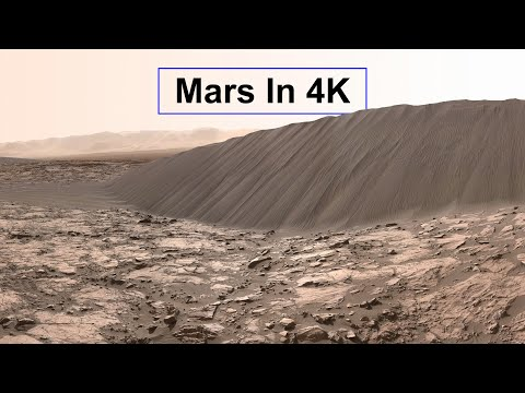 New footage from Mars