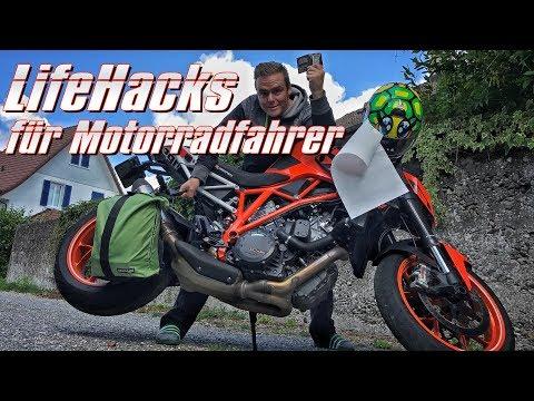5 LifeHacks für Motorradfahrer   KurvenradiusTV