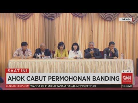FULL Breaking News! Ahok Batal Banding