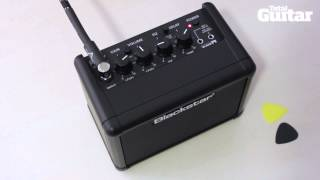 Blackstar Fly 3 Mini Amp First Look Demo