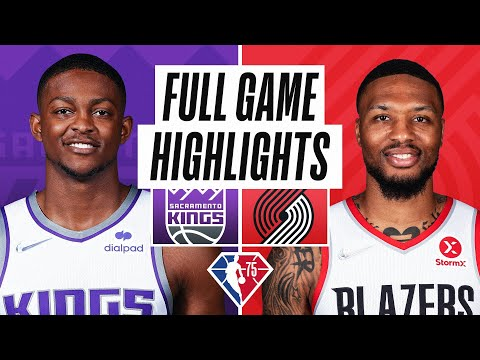 Portland Trail Blazers vs Sacramento Kings</a> 2021-10-21
