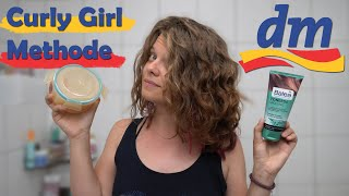 Meine Lieblings- DM CURLY GIRL METHODE für wenig Geld (Balea): klassisch und einfach