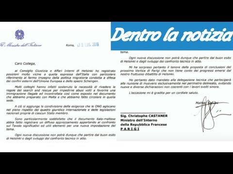 Lettera di Salvini a Castaner. Scontro durissimo fra Italia e blocco Francia-Germania