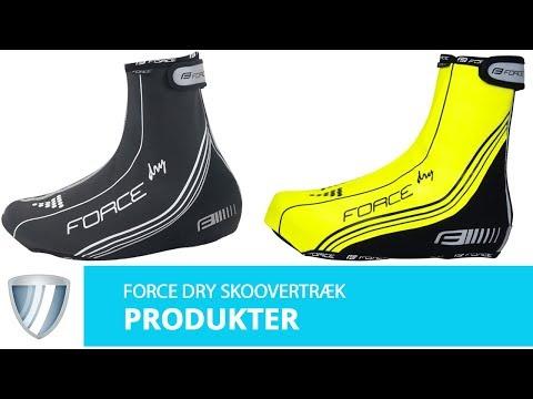 Force Dry skoovertræk video