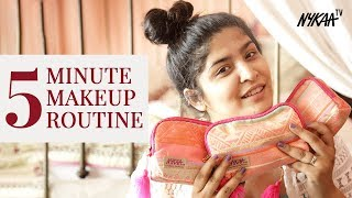 Makeup Routine In Just 5 Mins With A Beauty Blender + Giveaway (Closed) | Shreya Jain