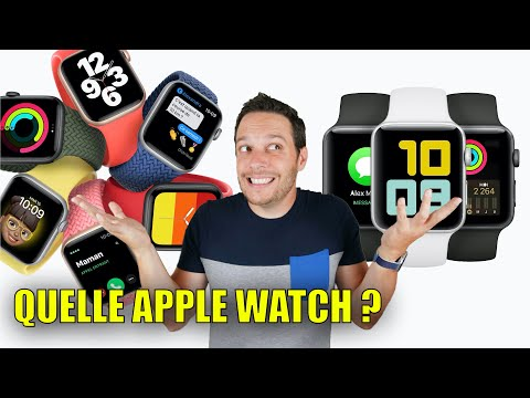 Quelle Apple Watch CHOISIR ? - 2020 / 2021