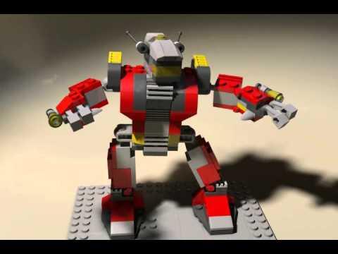 Vidéo LEGO Creator 5764 : Le robot