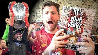 I WROTE A BOOK ABOUT LIVERPOOL WINNING THE CHAMPIONS LEAGUE!