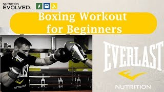 A Boxing Workout For Beginners ... Get into great shape for 2018