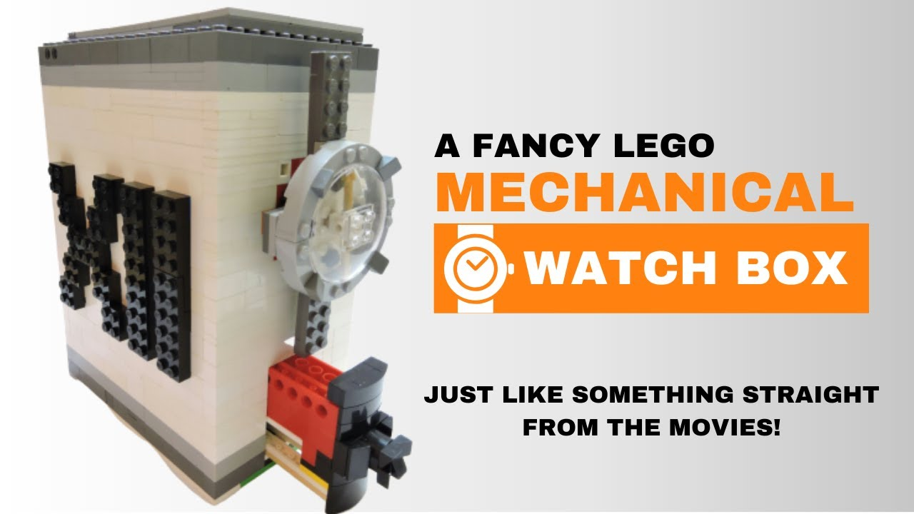 Best way to store watches! | Lego Technic MOC