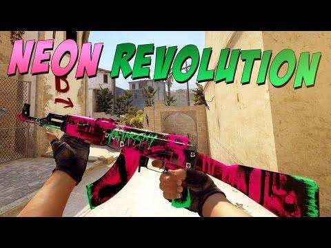Neon Revolution AK47 Game Play Video