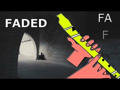, title : 'FADED / RECORDER / ALAN WALKER / FLAUTA DULCE FÁCIL / TUTORIAL CON ANIMACIÓN.'
