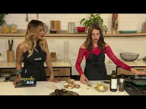 Video Health: Vitamin D-Rich Recipe - Mushroom Kebabs