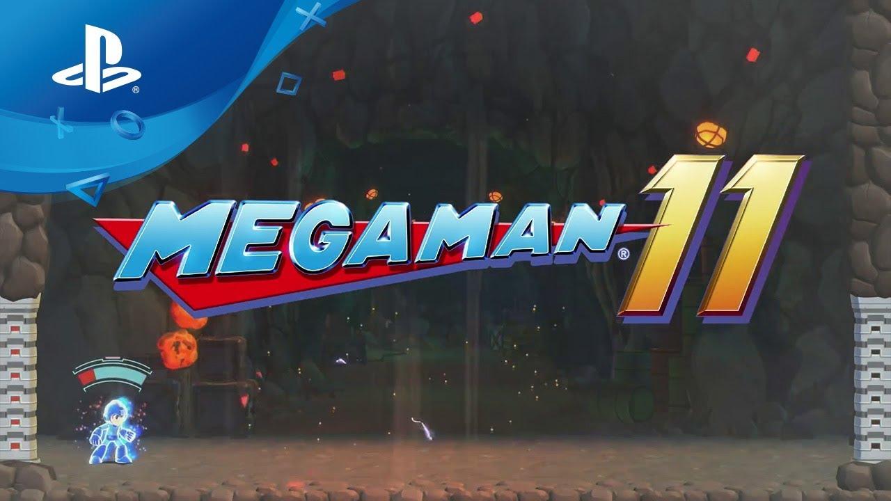 Mega Man 11 angekündigt, erscheint Ende 2018 auf PS4