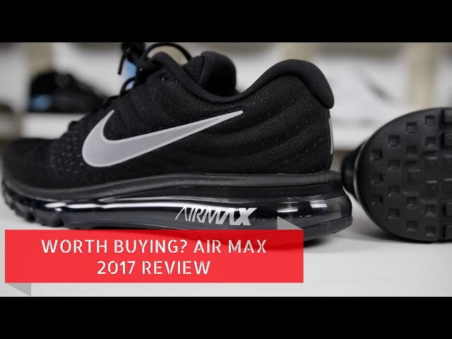 Nike Air Max 2017 Men's Running Shoe Paramount Blue/ White