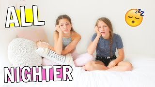ALL NIGHTER CHALLENGE in my new room!! FT Hope Marie! Did we make it?