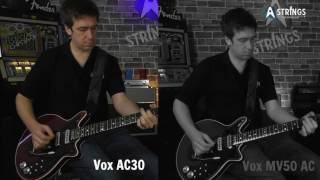 Vox AC30 Vs Vox MV50-AC In Brian May Mode - Part 1