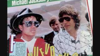 Michael Jackson and Mick Jagger ~ State of Shock