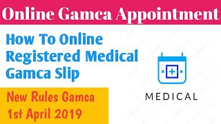 gamca medical online appointment payment - Kênh video giải
