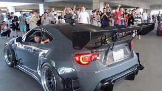 Re-creating the Tokyo Drift Car meet!
