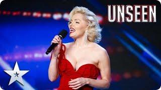SWIPE RIGHT for MARILYN MONROE aka Suzie Kennedy's ballad of a DATING APP! | BGT: UNSEEN