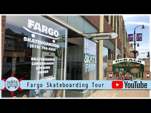 Fargo Skateboarding Virtual Tour: Skate Shop & Indoor Skate Park In Dekalb Illinois