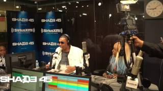 Santos Visits StreetSweeper Radio with DJ Kayslay