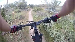 This video is a condensed file of the trail from the start of the Beardsley trail onto the burro trail then down to pipeline trail.