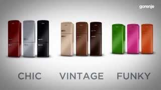 Retro Pelgrim Koelkast : Gorenje retro vintage rk oc fridge freezer most popular videos
