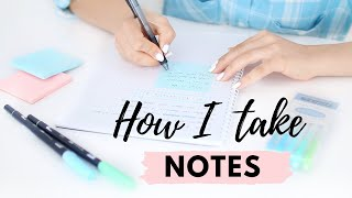 How I Take Notes | 10 Effective Note Taking Tips & Methods 📝