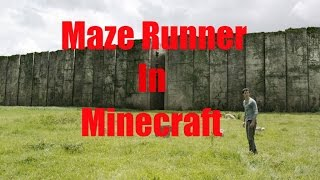 Maze Runner: The Glade in Minecraft!