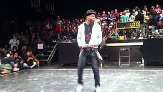 Juste Debout Japon Judge Elite Force Brooklyn Terry Solo 2011. 1.11