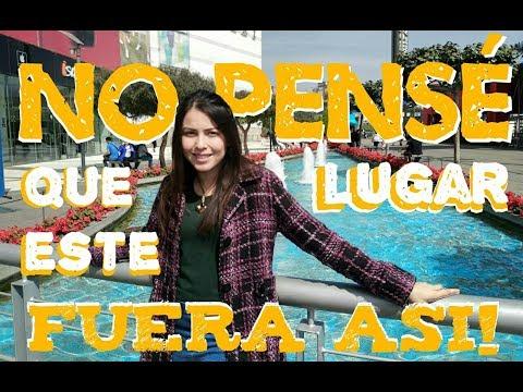 NUNCA imagine que Este SITIO sería así |Centro Comerciales en Lima | Pao Acevedo
