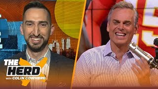 Nick Wright doesn't think the Clippers can outscore the Lakers, talks Baker issues & more | THE HERD