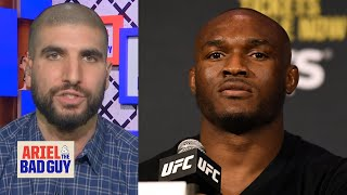 Kamaru Usman faces the most pressure at UFC 245 - Ariel Helwani | Ariel and the Bad Guy